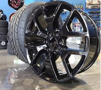 "24"" inch gmc or Chevy wheels and tires package deal Warren, 48092"