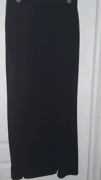 Black Skirt with double slit - large  Brampton, L6P
