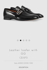 Authentic Gucci Loafer Mississauga, L5B 2C9