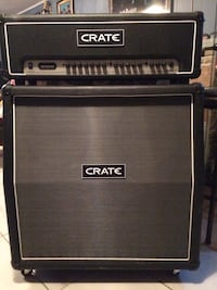 Black and gray Crate guitar amplifier Mississauga, L4T 2N8