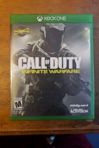 Call of Duty Infinite Warfare Xbox One game case Stowe, 19464