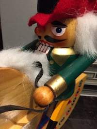 Nutcracker on Rocking Horse