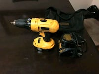 yellow and black DeWalt cordless power drill Ottawa, K2B 8J5