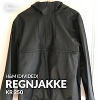 svart zip-up jakke Bønes, 5154