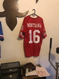 Joe Montana Authenticated jersey New Orleans, 70117