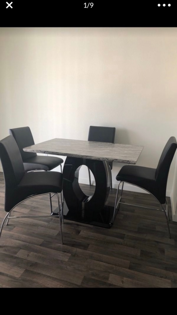used modern kitchen table and chairs for sale in