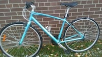 Raleigh hybrid bicycle 538 km
