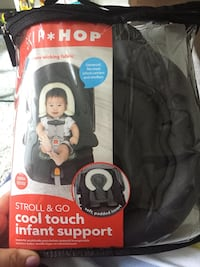 baby's black and gray car seat carrier Toronto, M6C 2M8