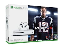 BNIB Xbox One S with Madden 18 null