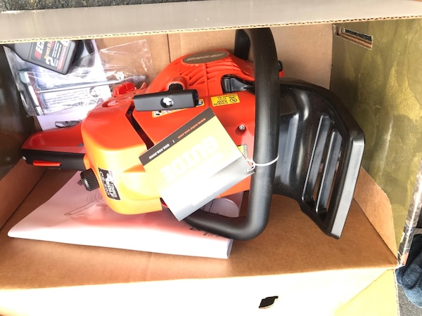 Brand new echo chainsaw. $300 firm. Retails for $399.99 eb4ee6f5-8e40-4b69-985a-4bb257a58e2f