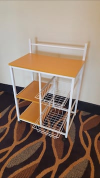 Brand New Kitchen Utility Cart on Wheels (New in Box) Silver Spring, 20902