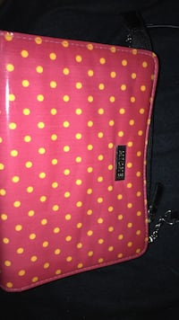 red and white polka dot print textile Surprise, 85379