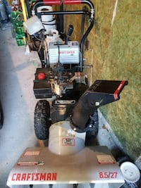 Craftsman 8.5   27 runs and drives new Winnipeg, R3J 1W2