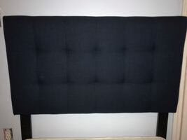 Two twin beds (Headboards, boxsprings, and rails