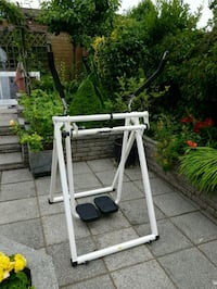 Zero G,Fitness Strider white and black metal frame Ashton-in-Makerfield, WN4 0SG