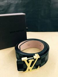 Louis Vuitton Black Damier Belt Houston, 77074