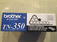 Brother TN-350 toner cartridge box ROCKVILLE