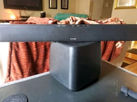 Polk audio sound bar 3000 with wireless subwoofer