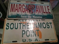 two car license plates Estero, 33928