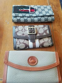 Gucci coach and dooney and bourke wallets  2320 mi