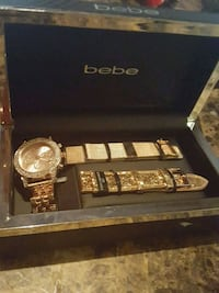 BEBE watch with changelabe wrist band Lanham, 20706