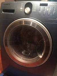 gray Samsung front-load clothes washer Laval, H7Y 2C8