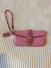 women's red leather wristlet Calgary, T3M 2E4