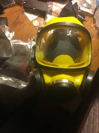 Gas masks for painting/aerosols