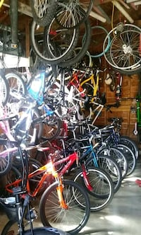 I got all different sizes bikes and prices