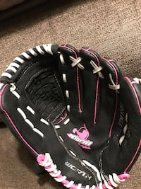 black, pink, and white leather baseball mitt Mount Pleasant, 10532