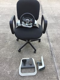 Xbox 360 Racing Wheel, Pedals, and Base Combo! Port Orange, 32127