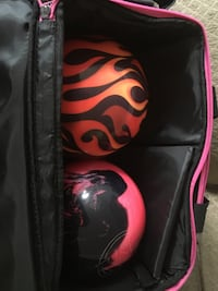 Bowling balls with bag Mississauga