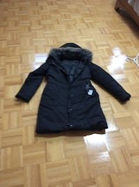 Down coat size small