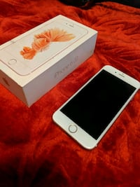 rose gold iPhone 6s with box 543 km