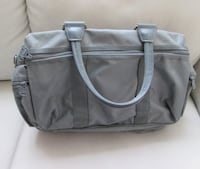 Grey Carry-on bag with many pockets Sac Gris