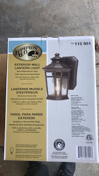 Exterior wall lantern light Laurel, 20723