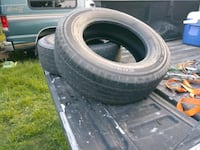 Two tires lot of life left