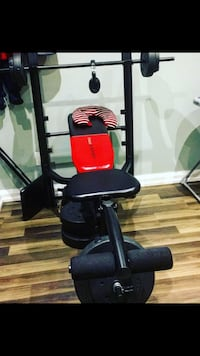 New weirder pro machine with bar bells comes with different weights Hamilton
