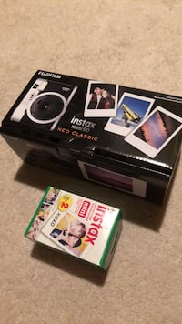 Brand New Fujifilm Instax Mini 90 Classic Instant Film Camera with Extra Film Kensington, 20895