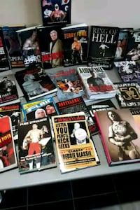 assorted Wrestling DVD and VHS and books   Mississauga, L5C 1G9