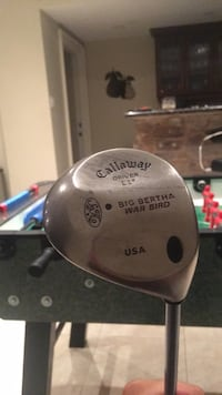 Callaway driver (11) big Bertha war bird Richmond Hill, L4C 6J7