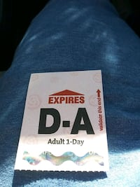 All day adult ticket Portland, 97202
