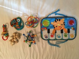 Assorted toys & books