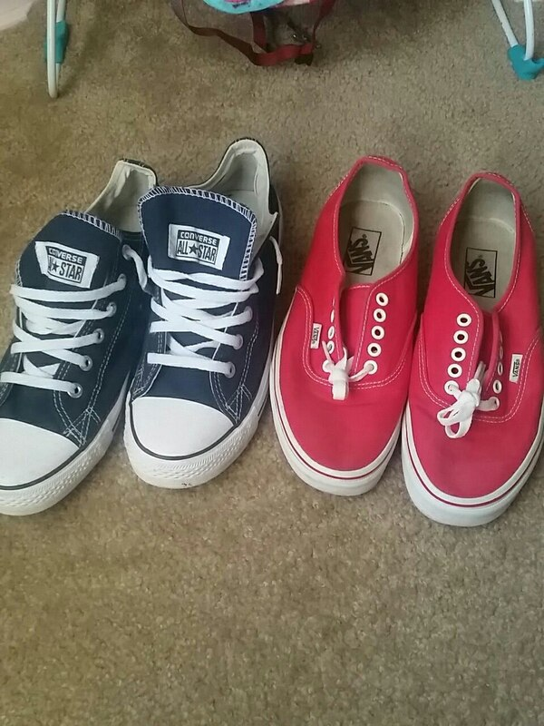 b07c500033f Used Converse and Vans Size 10 and 9 for sale in Kennesaw - letgo