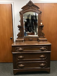 Four Victorian dressers for sale. (Will sell separately.) Virginia Beach, 23452
