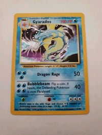 Gyarados Pokemon Card