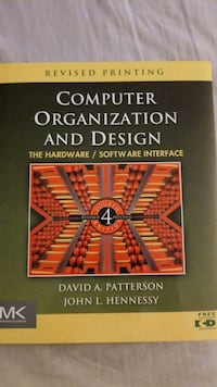 Computer Organization and Design Annandale, 22003