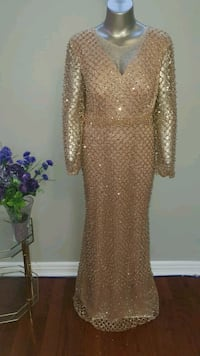 Golden Pearl Party Wear Dress Brampton, L6X 0G3