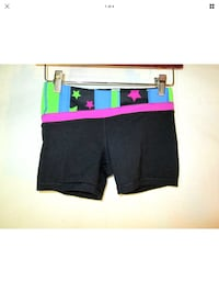 Ivivva 10 girls for lululemon rhythmic shorts black Luon (fits women's 2) Hamilton, L8L 7N2