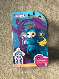 Blue fingerlings baby monkey